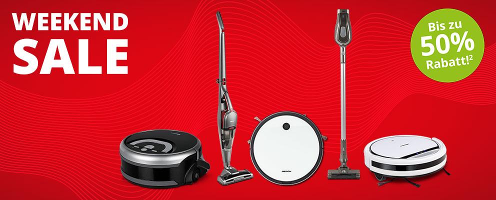 Medion Weekend Sale: Staub- & Wischroboter