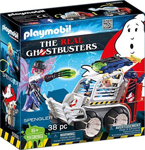 Playmobil Ghostbusters - Spengler mit Käfigfahrzeug