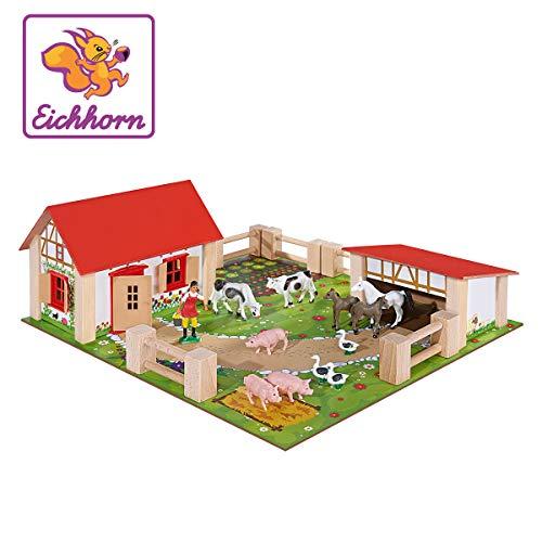 Eichhorn 100004304 - kleiner Bauernhof, Bauernhof mit 2 Gebäuden