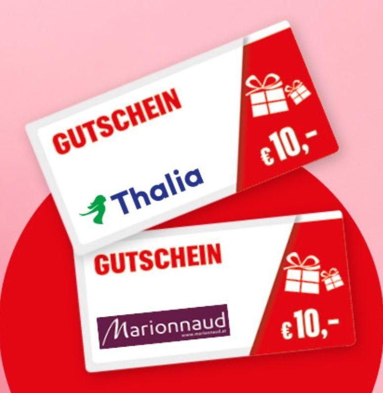 Krone Testabo: GRATIS 10€ Gutschein von Thalia oder Marionnaud