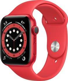 Apple Watch 6 (44mm, Alu, rot)