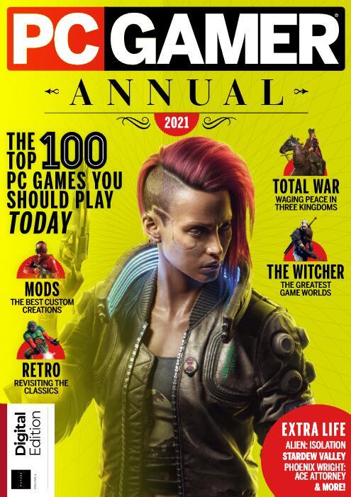 PC Gamer Annual 2021 Magazin als digitale Ausgabe gratis lesen.
