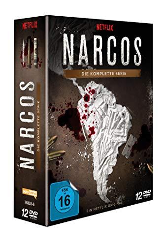 Netflix Serie: Narcos - Die komplette Serie [12 DVDs]