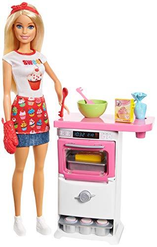 Mattel Barbie Cooking & Baking Bäckerin Puppe und Spielset