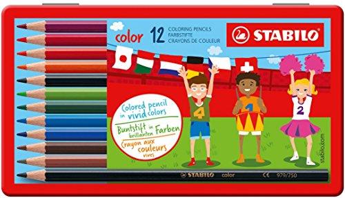 STABILO Color - 12er Metalletui