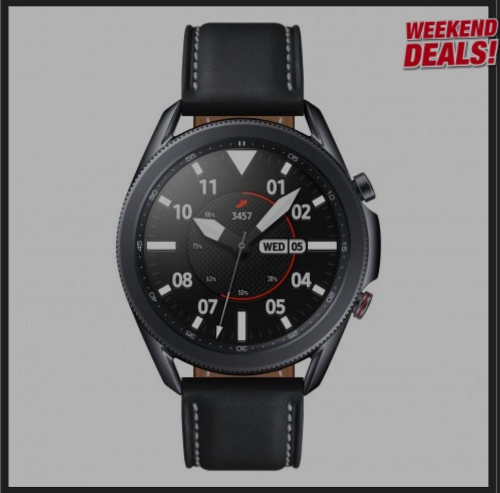 Samsung Galaxy Watch3 Edelstahl 45mm mystic black SM-R840NZKAEUB