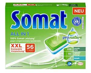 "56x Somat ""All in 1 Pro Nature"" Spülmaschinen-Tabs"