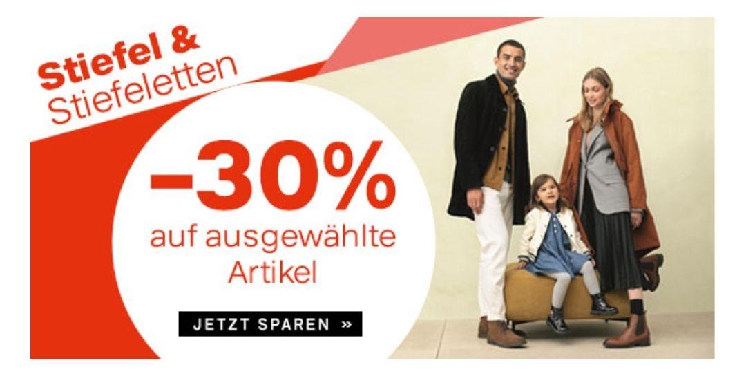 Deichmann 30% auf Stiefel ab 8.2.21
