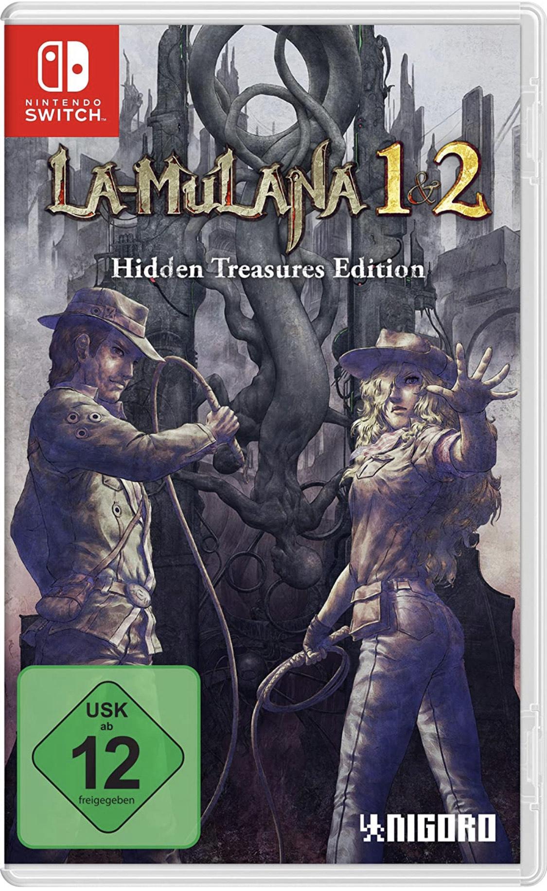 LA-MULANA 1 & 2: Hidden Treasures Edition [XNintendo Switch]