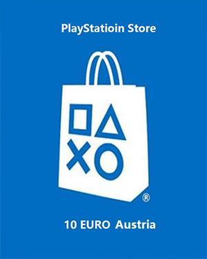 PlayStation Store 10 EURO PSN Gift Card Austria €7.80