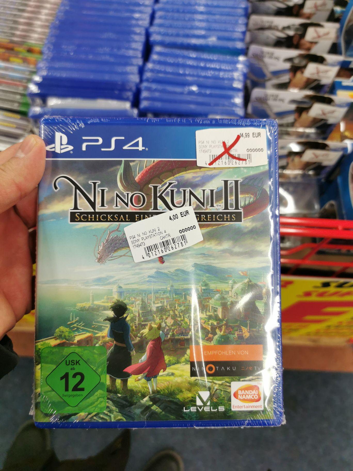Mediamarkt PS4 und Xbox games Angebote (SCS) (Ni No Kuni 2 für 4 €)