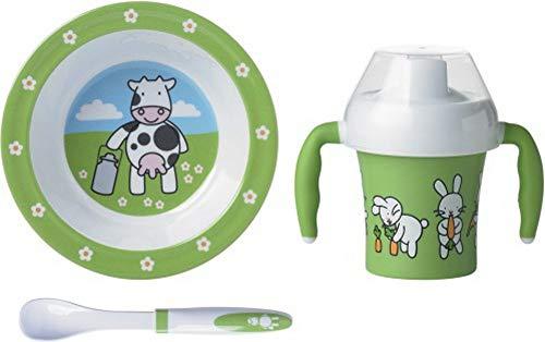 Emsa 509095 3-teiliges Baby Geschirr Set