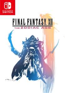 Final Fantasy XII: The Zodiac Age (Nintendo Switch) + Kunstkarte