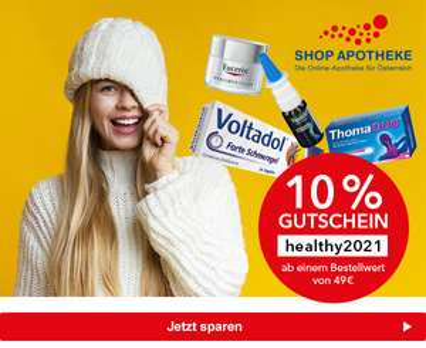10% ab 49€ bei Shop-Apotheke
