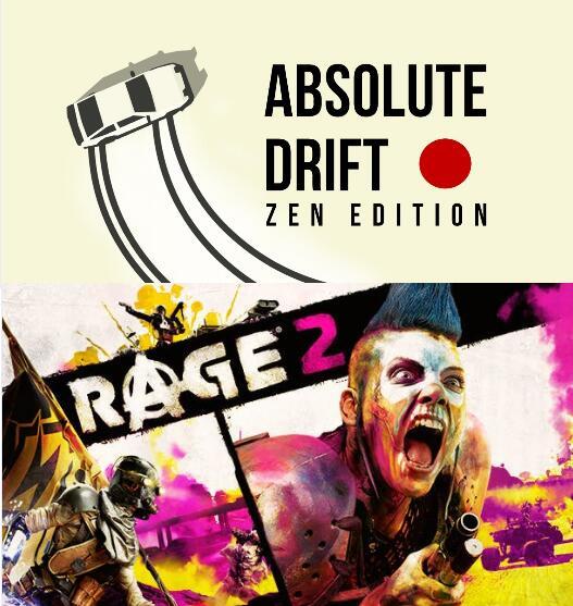 """""""Rage 2"""" und """"Absolute Drift: Zen Edition"""" (Windows PC) gratis im Epic Store ab 18.2. 17 Uhr"""