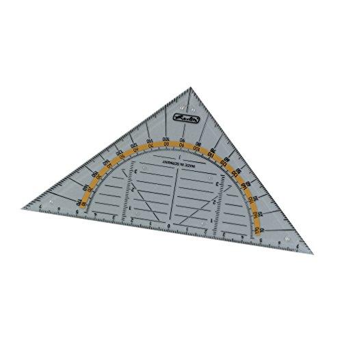 Herlitz klassisches Geometrie-Dreieck