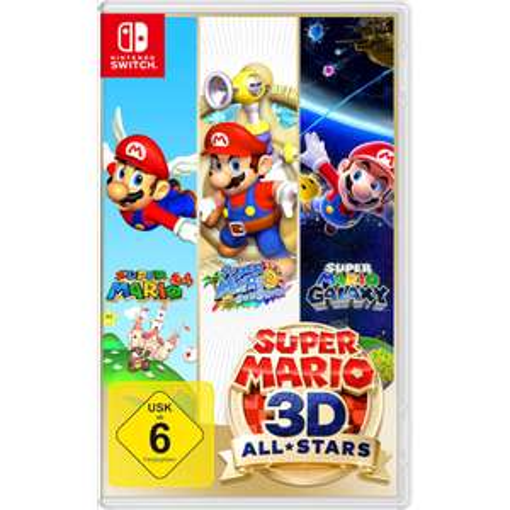 (Universal Premium) Super Mario 3D All Stars (Switch)