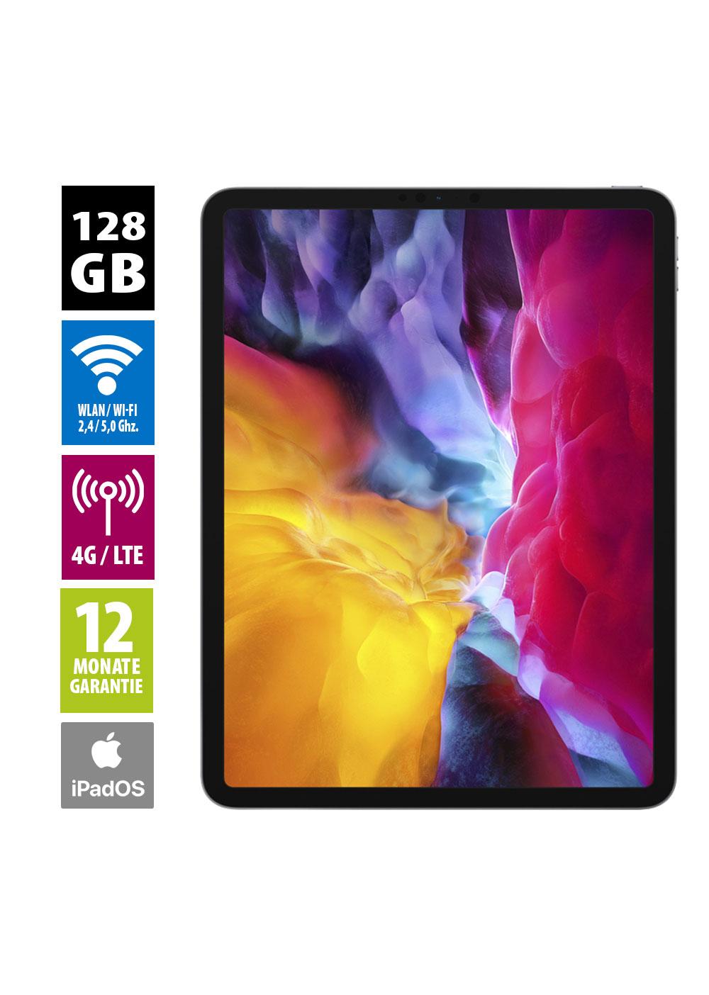 Apple iPad Pro 11 2020 Wi-Fi + Cellular 128GB, Neuwertig, Grade A+