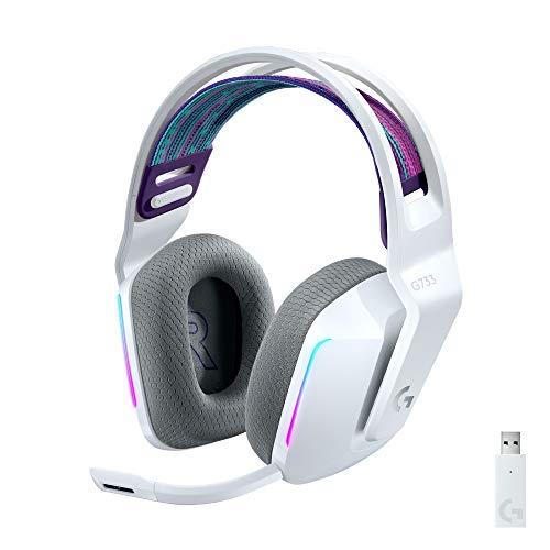 Logitech G733 Lightspeed Headset, weiß
