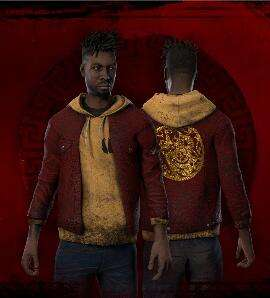 "Dead by Daylight ""Shimmering Ox Jacket"", ""Gilded Locks"", ""Lunar New-Year Charm"" und ""Scarlet Edge Katana"" (PC / XBOX/ PlayStation / Switch)"