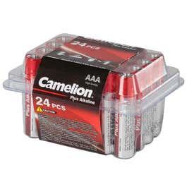 [NKD] Camelion Batteriebox - 24er Pack, AAA oder AA um nur 2,06€ (MBW 10€)