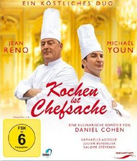 """""""Kochen ist Chefsache"""" mit Jean Reno, """"Headhunters"""" und """"Tiger Girl"""" als Stream oder zum Herunterladen aus der 3Sat Mediathek"""