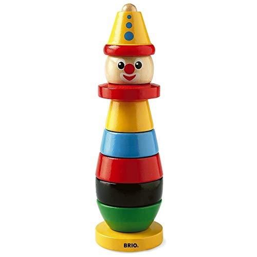 Preisjäger Junior: Brio Clown, Stapelspielzeug