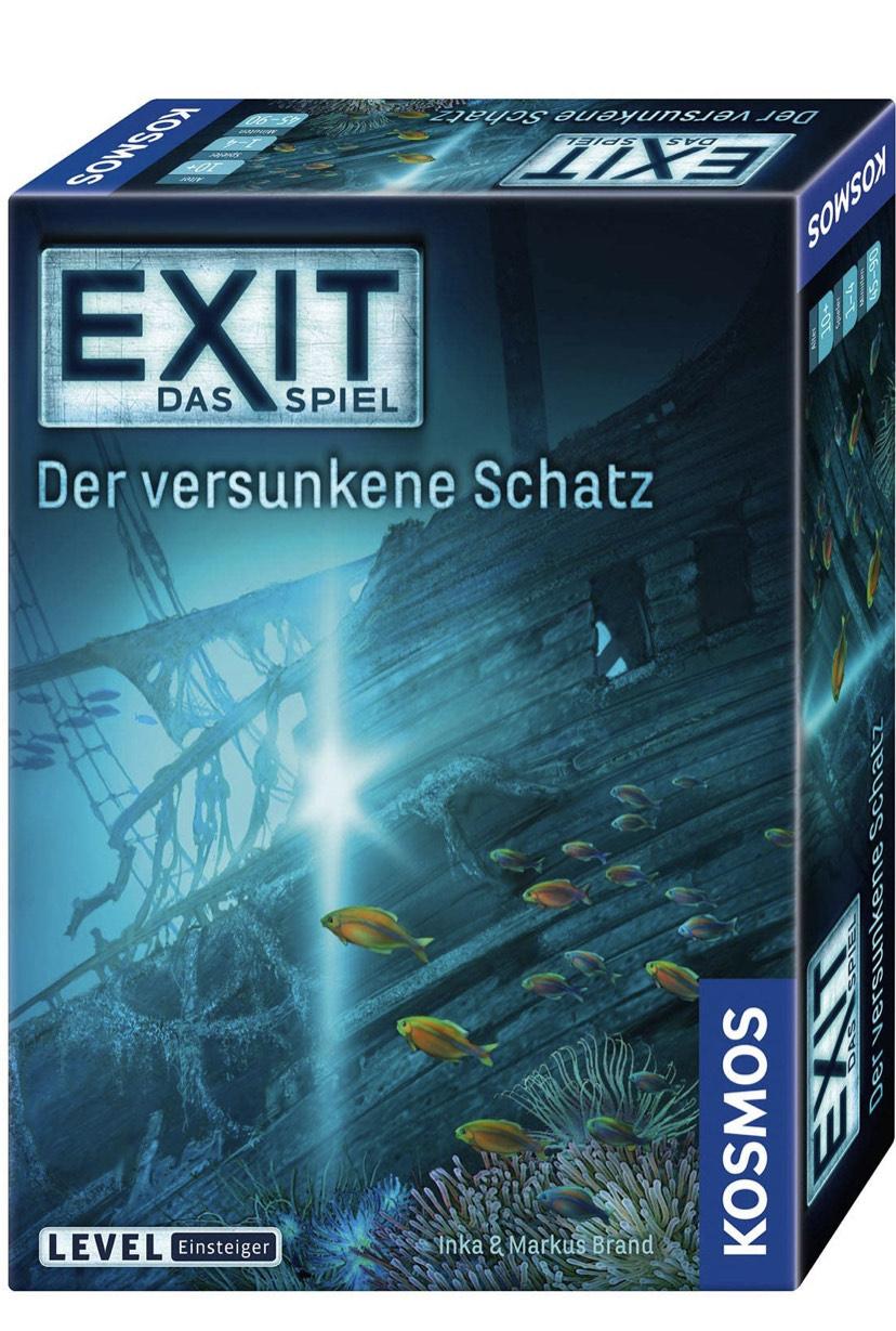 Verschiedene EXIT Spiele jetzt über Amazon günstiger