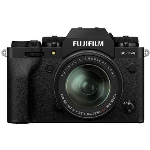Fujifilm X-T4 Schwarz + XF 18-55mm
