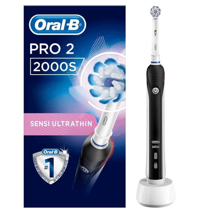 @0815.at | ORAL-B PRO 2 2000S black Elektrische Zahnbürste