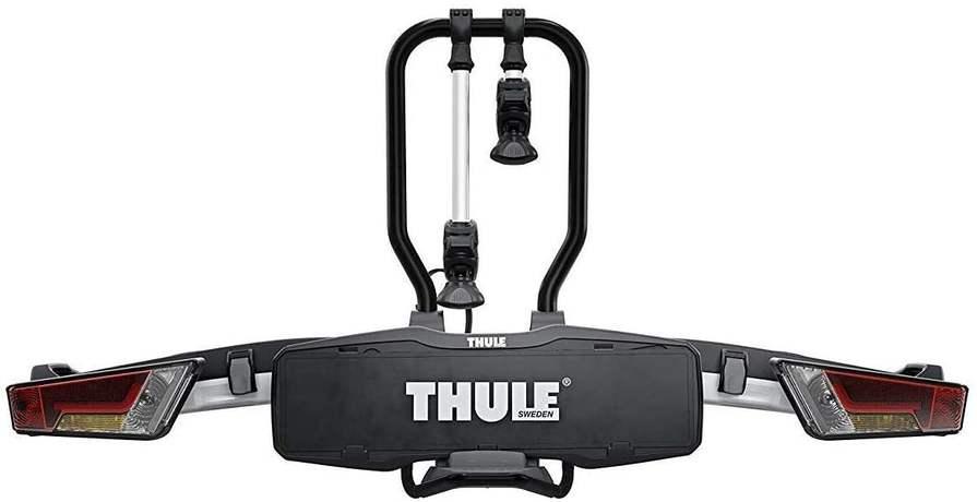 Thule EasyFold XT 2 - Trägersystem für 2 Fahrräder (Klappbar für den Kofferraum!)