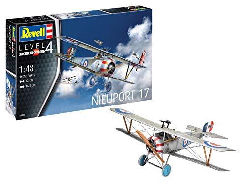 Revell 3885 1:48 Plastic Model Kit 03885 Nieuport 17, Mehrfarbig, 1/48
