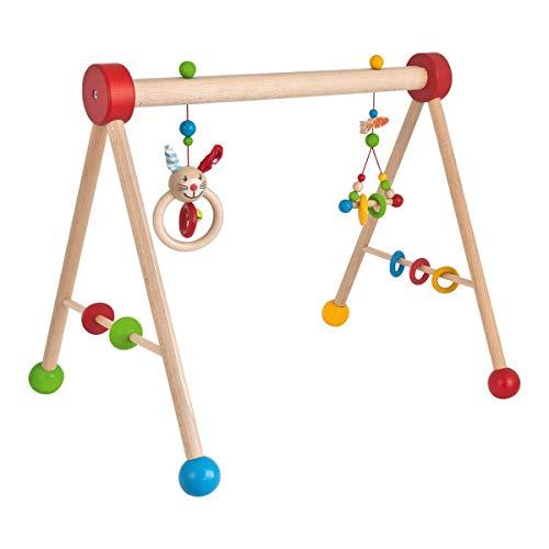 Eichhorn, Baby Gym, mit Spiel und Greiffunktion, Spieltrapez