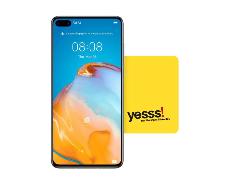 Huawei P40 günstig bei YESSS [Frei für alle Netze]