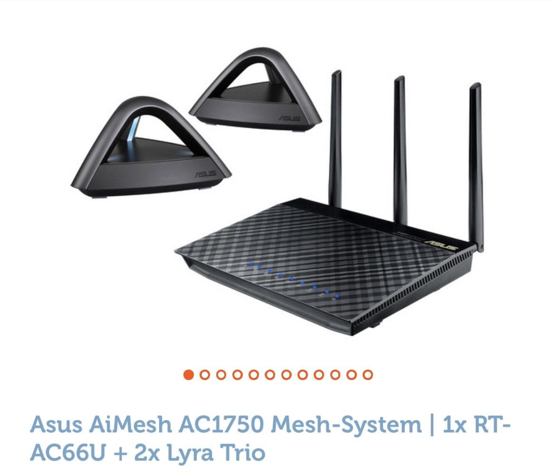 Asus AI Mesh AC1750