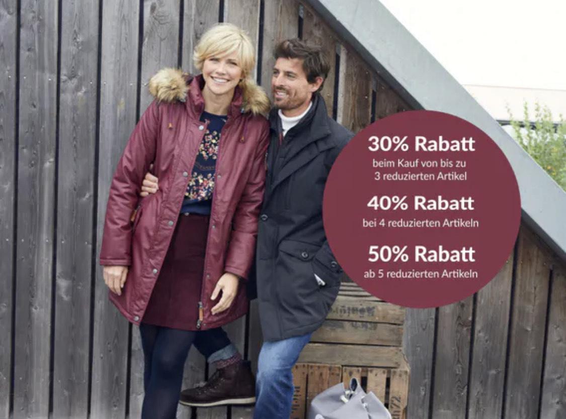 Staffelrabatt bei Adler auf Sale 30/40/50%