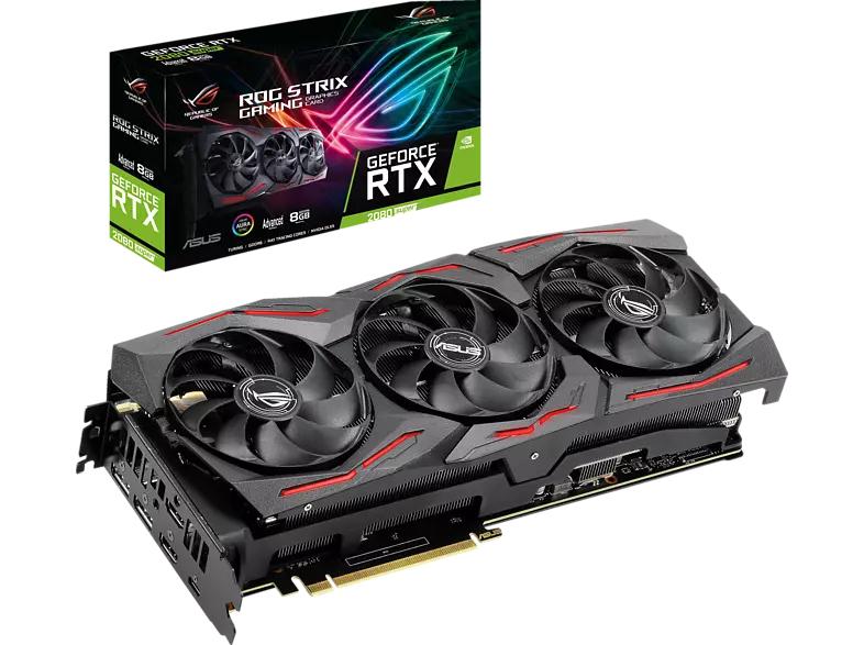 ASUS GeForce® RTX 2080 SUPER Advanced, ROG-STRIX-RTX2080S-A8G-GAMING, 8GB GDDR6 (90YV0DH1-M0NM00)