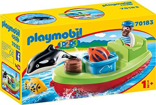 Preisjäger Junior: Playmobil Seemann mit Fischerboot
