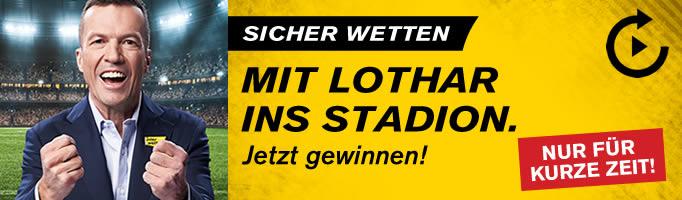 Interwetten - 11 Euro Wettguthaben dank Lothar