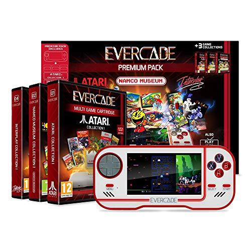 Blaze Evercade Premium Pack mit 3 Spielen (Atari, Namco & Interplay Collection)