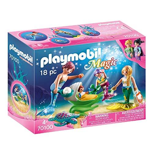 """Preisjäger Junior: Playmobil """"Magic Familie mit Muschelkinderwagen"""""""