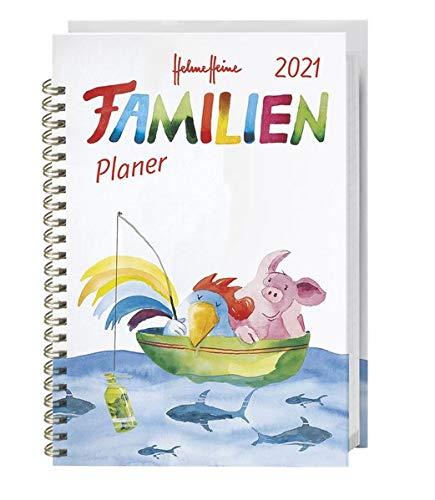 Helme Heine Familienplaner 2021, A5