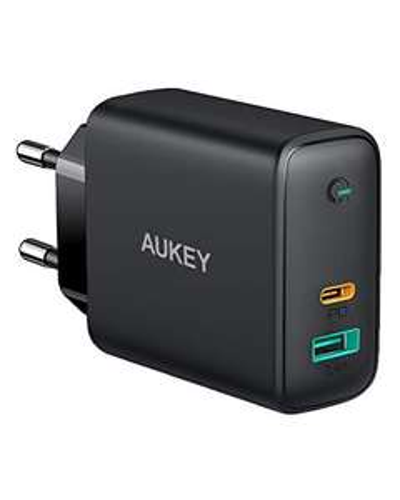 AUKEY Schnelladegeräte USB-C, USB-A, PD, GaN Tech, 60W, 65W