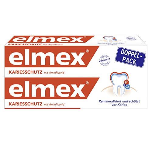 10x Elmex Kariesschutz Zahnpasta (Doppelpack, Amazon 5 für 4 Aktion)