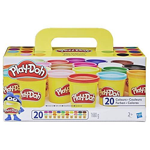 Play-Doh Super Farbenset 20er Pack Knete