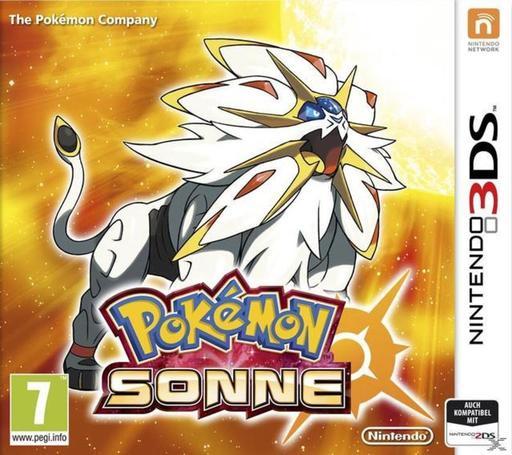 Pokémon Sonne für Nintendo 3DS