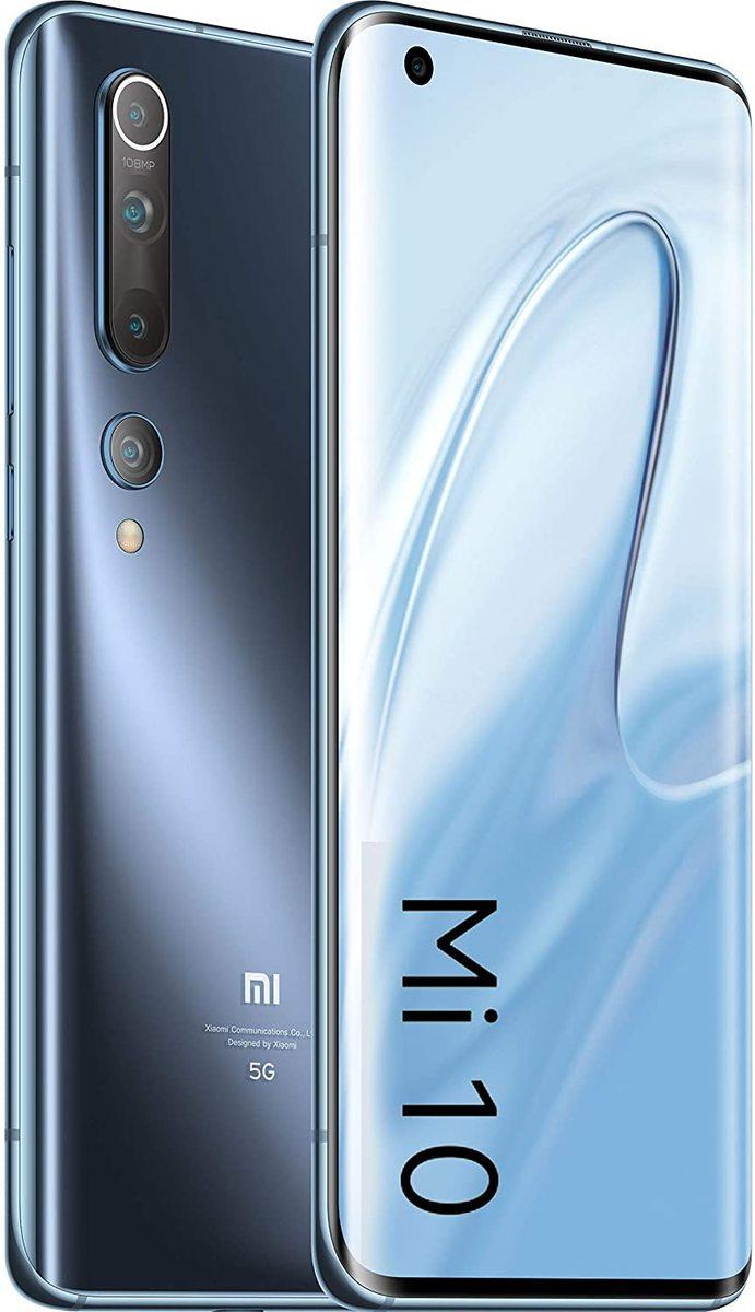 Xiaomi Mi 10 twilight grey 8/128 GB Global Version Neuware