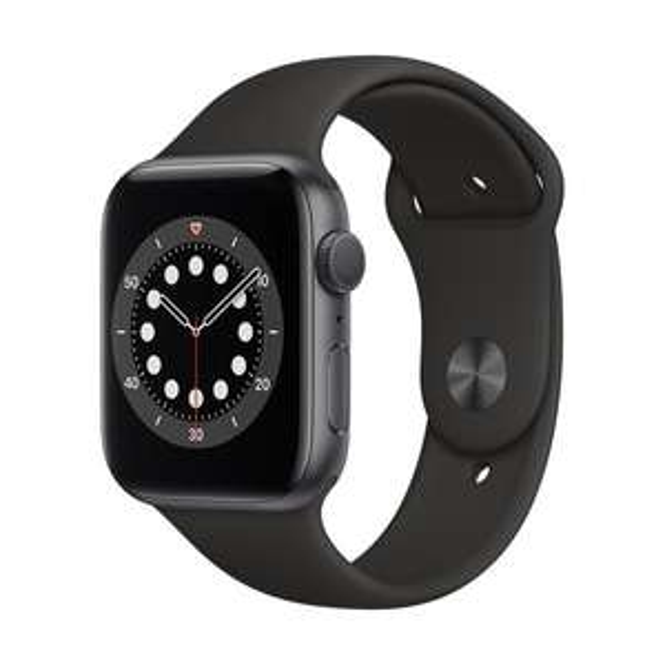 Apple Watch 6 (Alu, spacegrey, 44mm)