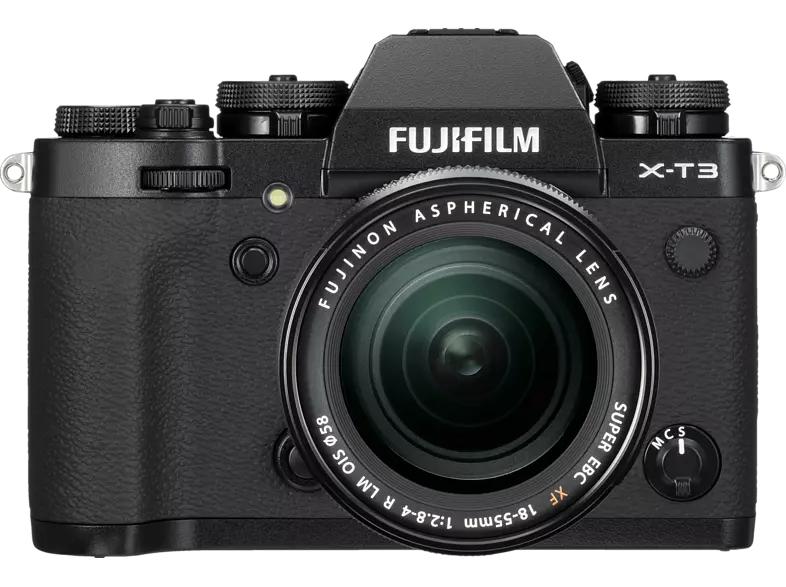 FUJIFILM X-T3 / XF18-55mmF2.8-4 R LM OIS Kit, durch Cashback 1113,10€