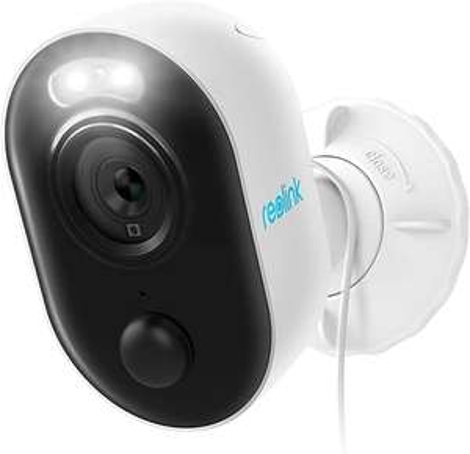 Reolink Lumus 1080P WLAN IP Kamera Outdoor mit Licht Spotlight, 2-Wege-Audio, Bewegungserkennung + PIR, Micro SD-Kartenslot